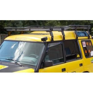 Bagażnik Land Rover Discovery I, II z siatką podgięte łapy